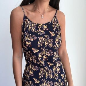 Flynn Skye Anaheit floral maxi dress S